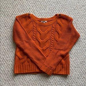 BB Dakota Orange Sweater